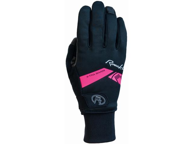 Roeckl Villach Gloves black/pink